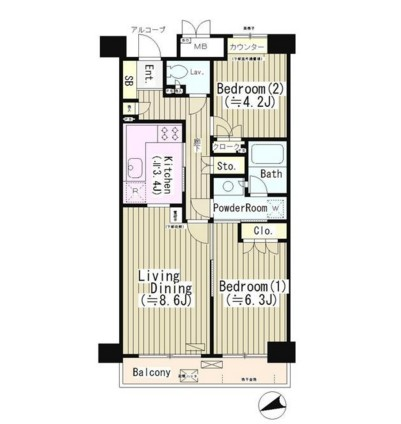 高田馬場パーク・ホームズ501号室