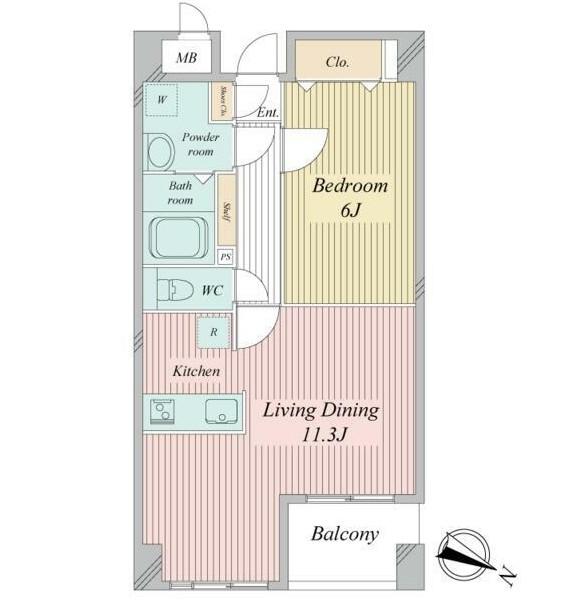 クエスタ高輪503号室