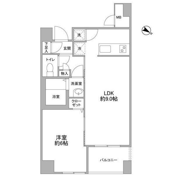 クエスタ高輪601号室