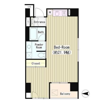 LA・RES西麻布902号室
