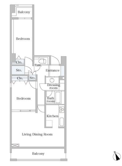 麻布市兵衛町ホームズ1304号室