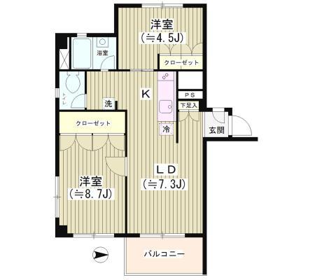 シャンブル六本木601号室