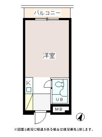 パーク・ノヴァ渋谷206号室