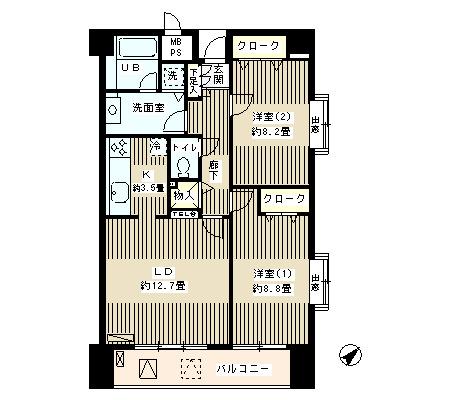 アステリオン松濤801号室