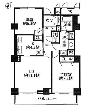 ベイコート芝浦75号室