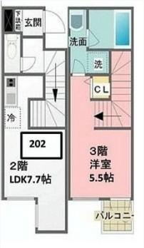 メロディア原宿202号室