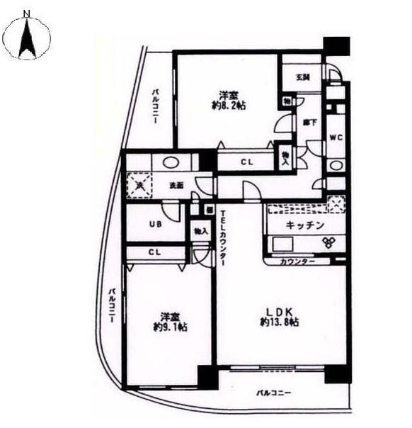 シルフィード南平台B307号室