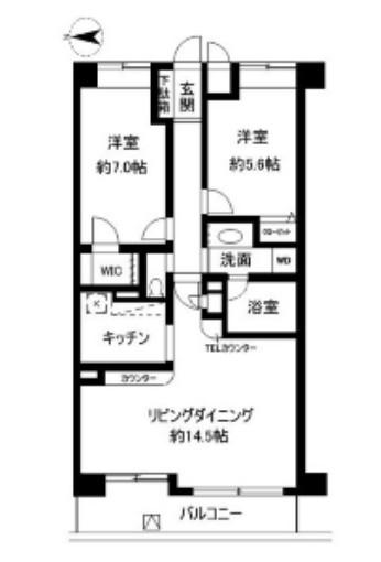 シルフィード南平台402号室