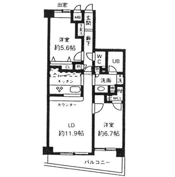 シルフィード南平台C404号室