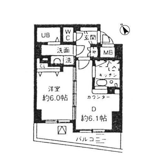シルフィード南平台C405号室