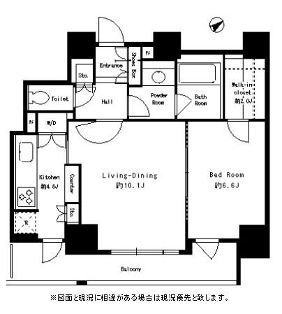 パークタワー芝浦ベイワード アーバンウイング1001号室
