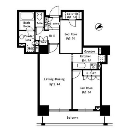 パークタワー芝浦ベイワード アーバンウイング1206号室