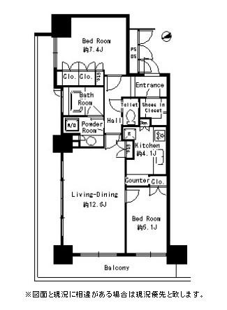 パークタワー芝浦ベイワード アーバンウイング1508号室