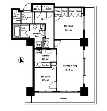 パークタワー芝浦ベイワード アーバンウイング1602号室