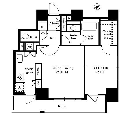 パークタワー芝浦ベイワード アーバンウイング1701号室