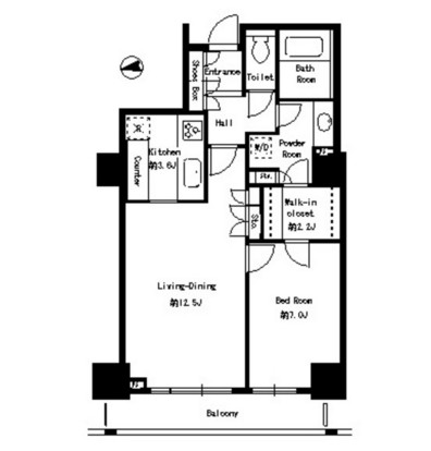 パークタワー芝浦ベイワード アーバンウイング2205号室