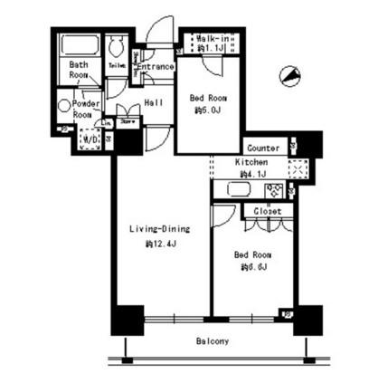 パークタワー芝浦ベイワード アーバンウイング306号室