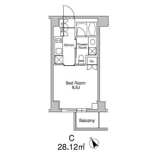 プラウドフラット南青山402号室