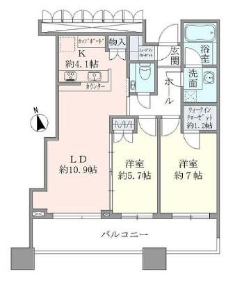 パークタワー目黒2403号室