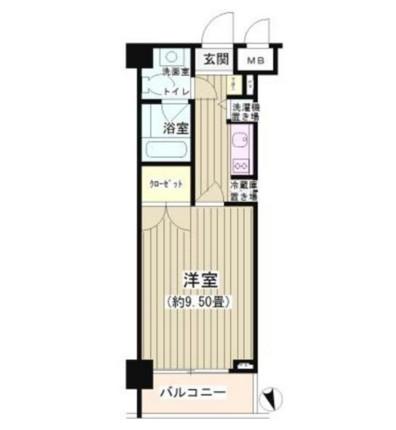 NONA PLACE渋谷富ヶ谷206号室