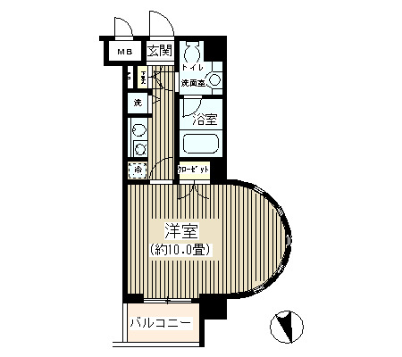 NONA PLACE渋谷富ヶ谷209号室