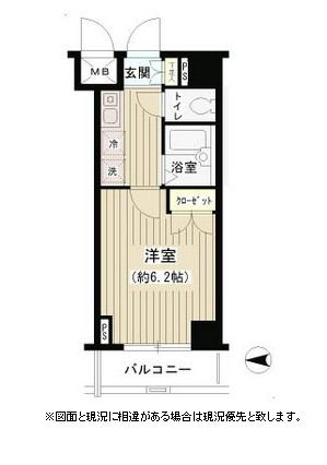 T&G四谷マンション505号室
