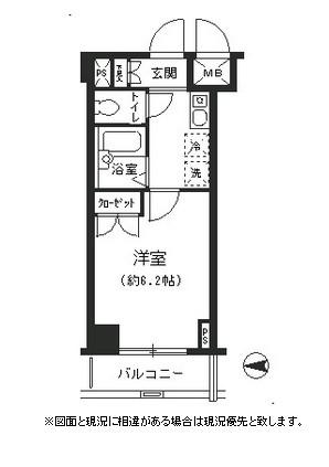 T&G四谷マンション606号室