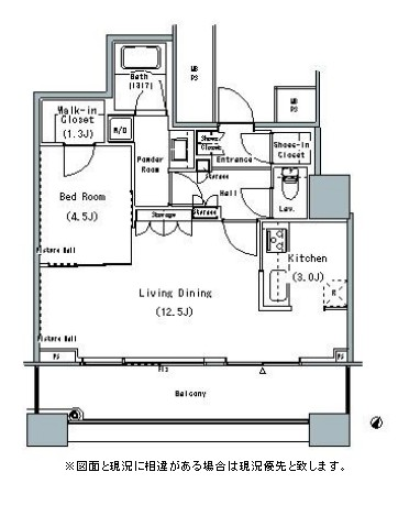 THE TOKYO TOWERS MIDTOWER2702号室