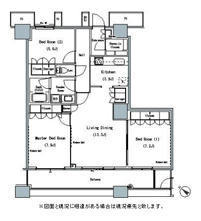 THE TOKYO TOWERS MIDTOWER2910号室