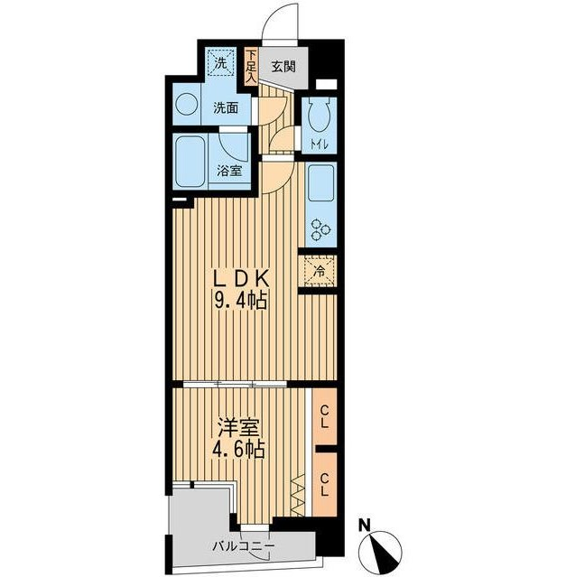 THEパームス代々木上原ヴェールテラス202号室