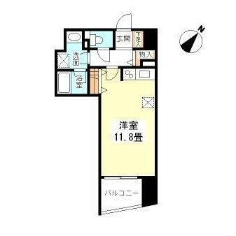 TKフラッツ渋谷1007号室
