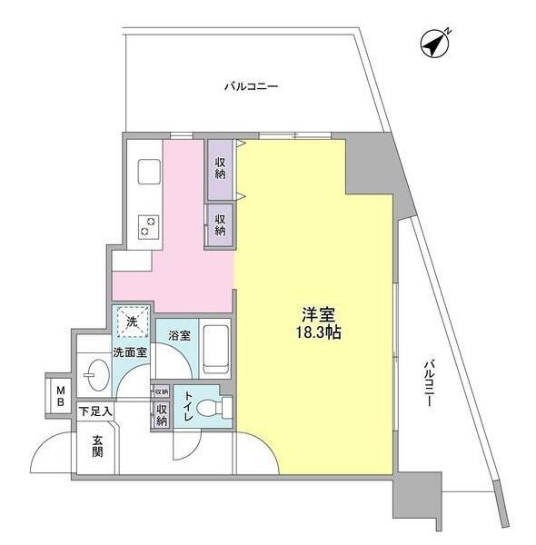 TKフラッツ渋谷1010号室