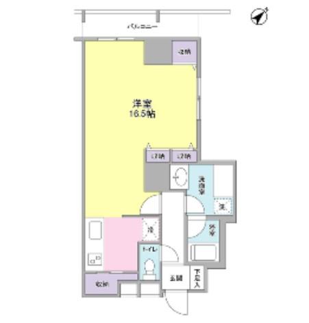 TKフラッツ渋谷1011号室