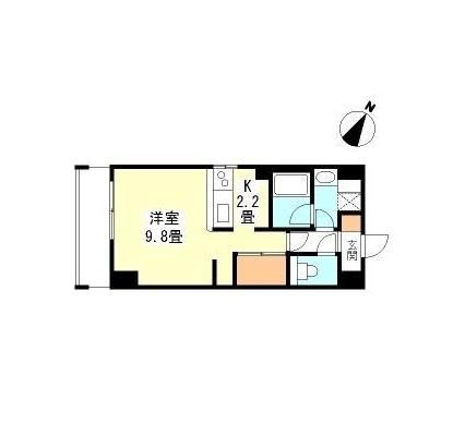 TKフラッツ渋谷102号室
