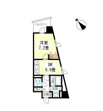 TKフラッツ渋谷107号室