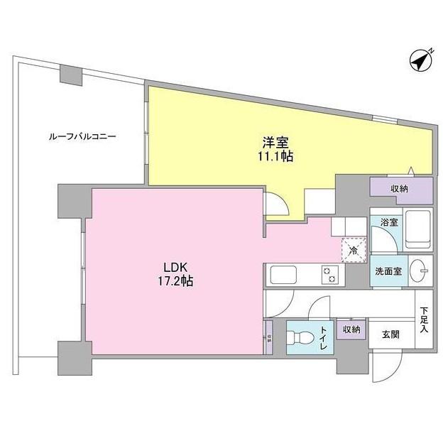 TKフラッツ渋谷1101号室