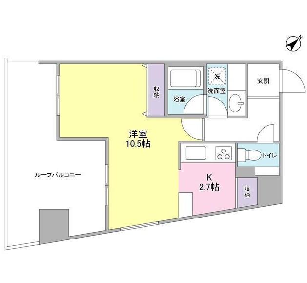 TKフラッツ渋谷1104号室