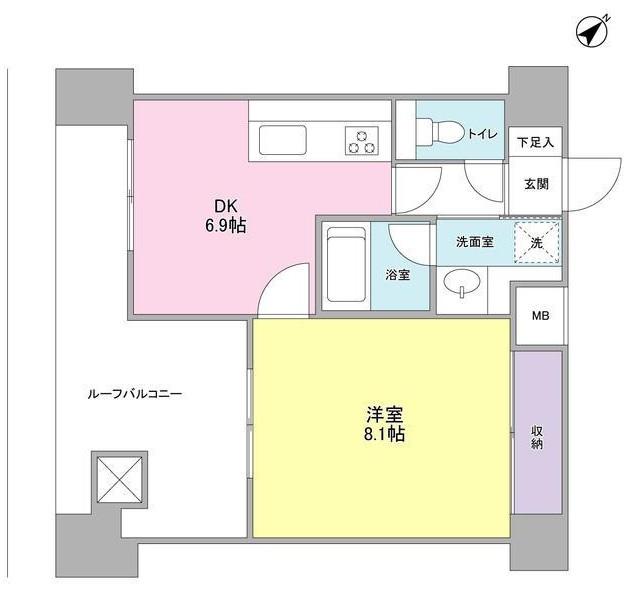 TKフラッツ渋谷1202号室