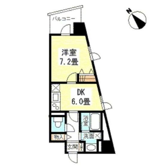 TKフラッツ渋谷1205号室
