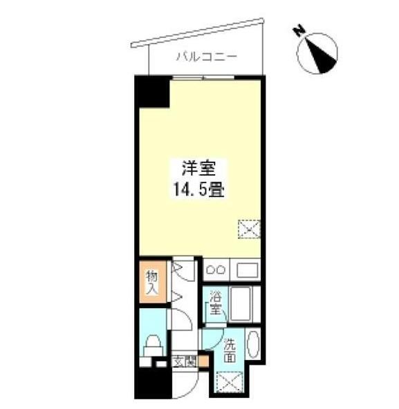 TKフラッツ渋谷1206号室