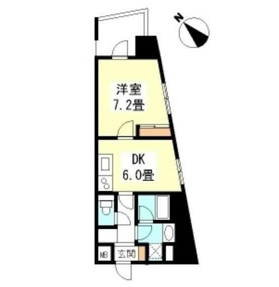 TKフラッツ渋谷1305号室