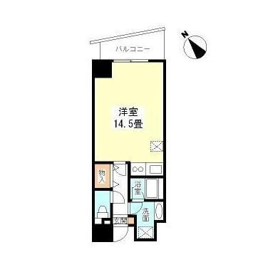 TKフラッツ渋谷1406号室