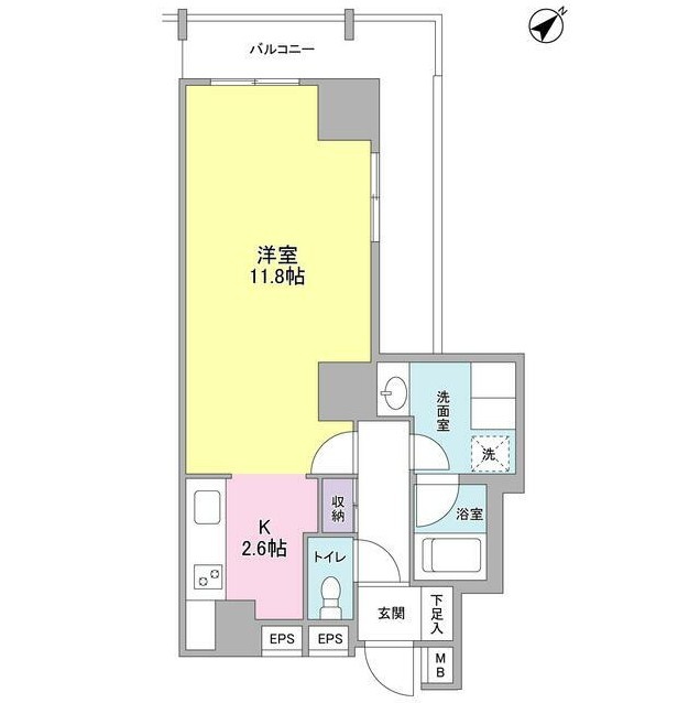 TKフラッツ渋谷1408号室