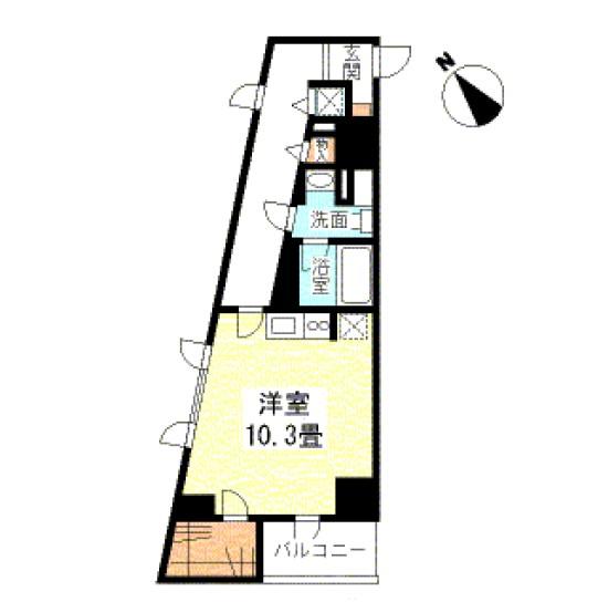 TKフラッツ渋谷201号室