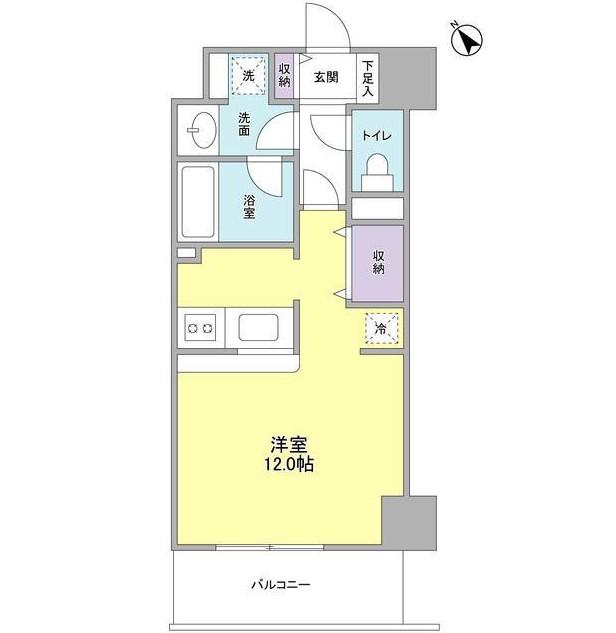 TKフラッツ渋谷202号室