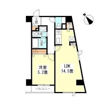 TKフラッツ渋谷206号室