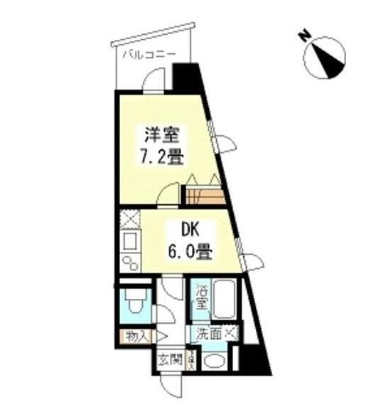 TKフラッツ渋谷208号室