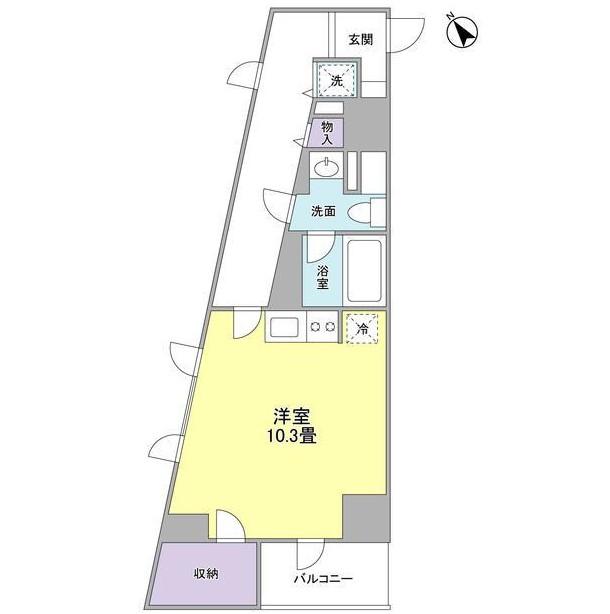 TKフラッツ渋谷401号室