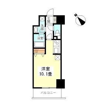 TKフラッツ渋谷404号室