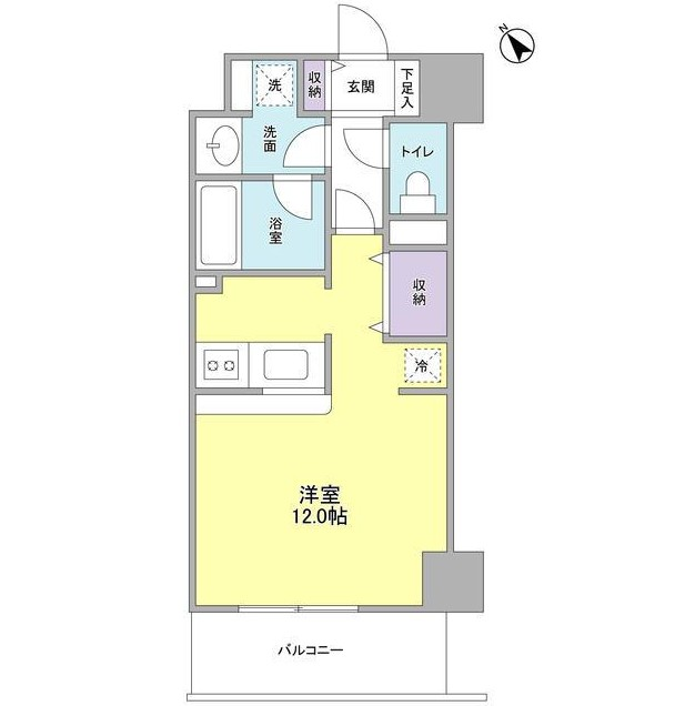 TKフラッツ渋谷602号室